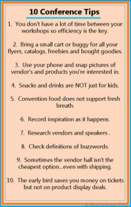 Top 10 Conference Tips for Homeschoolers