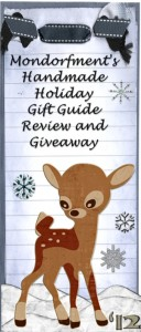 Mondorfment's Handmade Holiday Gift Guide Review and Giveaway for Winter '12
