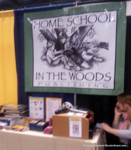 Homeschool in the Woods History Notebooking and Lapbooking at Great Homeschool Convention Cincinnait