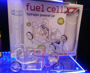Build your own fuel cell and power a vehicle with water.