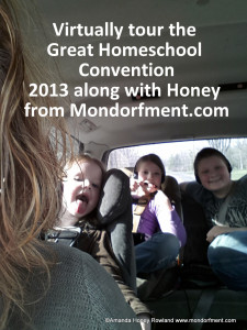 See vendors, speakers and the goodies of the Great Homeschool Convention with Honey