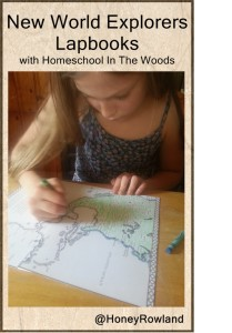 New World Explorers lapbook from Homeschool In the Woods Review by Honey Rowland