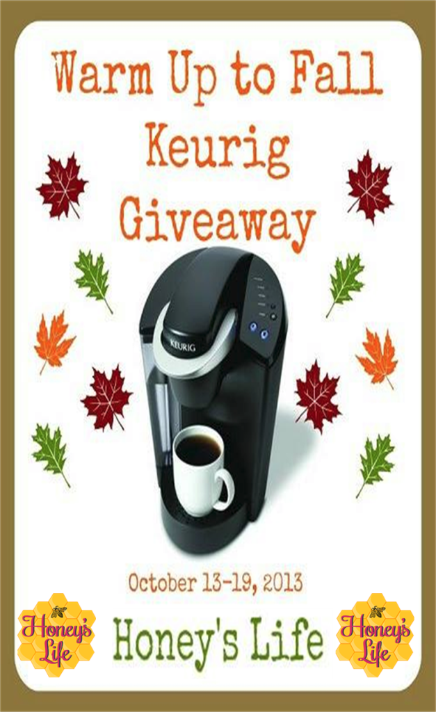 """Keurig My K Cup"" and win a Keurig B40."