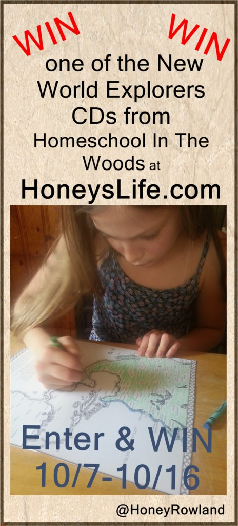 Win a New World Explorers Notebooking and Lapbooking CD at HoneysLife.com