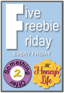 5 Freebie Friday Linky