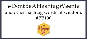 Hashtag definition tips and how to from HoneysLife.com  BB100