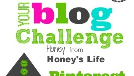 Optimize your profile with #BB100 Pinterest Challenge with Honey of HoneysLife.com