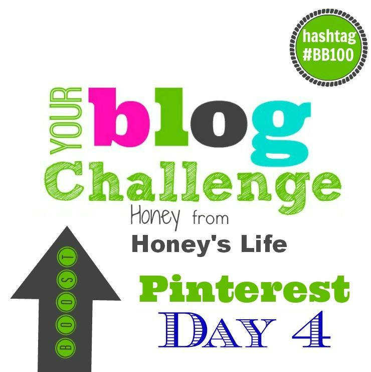 Pinterest for Blogger Business with #BB100 Pinterest Challenge with Honey of HoneysLife.com