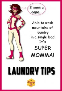 Eco laundry tips for the going green budget superwoman