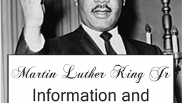 Martin Luther King Information and Resources