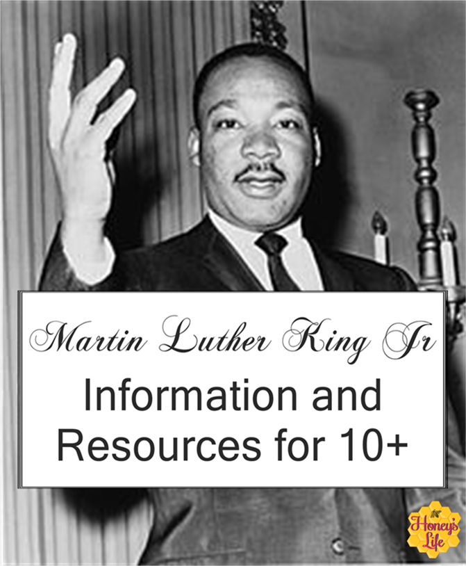 Martin Luther King Jr Information and Resources