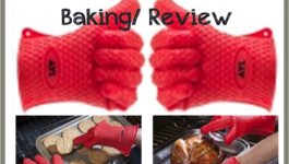 Silicone Heat Resistant Grilling BBQ Baking Review HoneysLife #Aylsiliconeglove