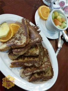 French toast at Mohican State Park and Lodge means you're ready for even more hiking!
