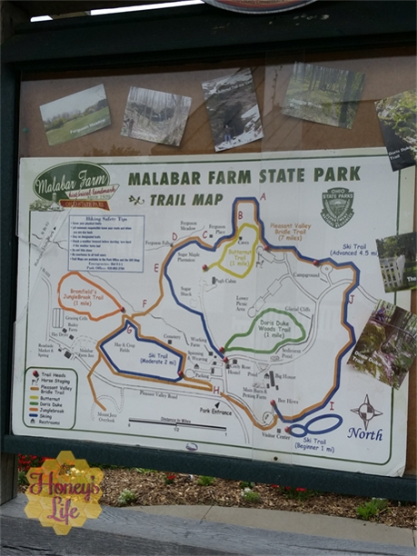 We loved exploring Malabar Farms while at Ohio's Mohican State Park and Lodge