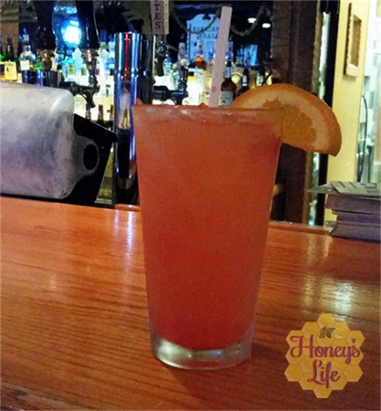 The Sunset- Ohio's Mohican State Park and Lodge's signature drink is definitly what you drink while watching the sun set.