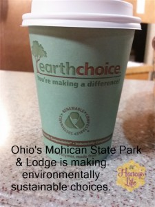 Ohio's Mohican State Park and Lodge has enacted amazing eco friendly alternatives most  hotels and park don't think about.