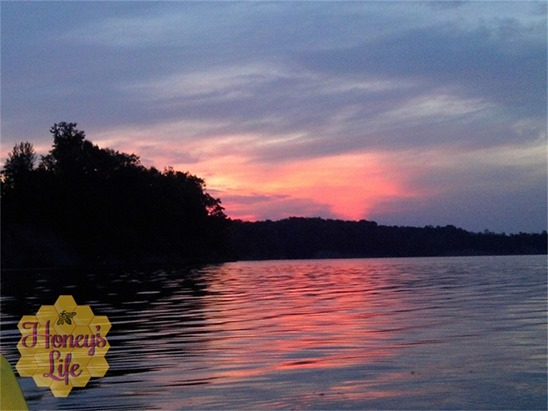 Sunrise on the lake at Ohio State Deer Creek Park and Lodge1